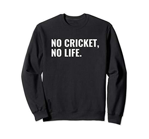 Lustige Cricket-Sportarten Sweatshirt