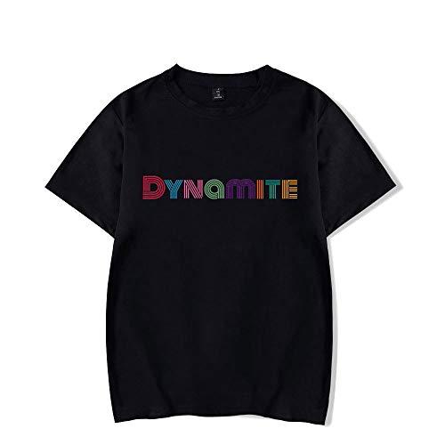 Bangtan Boys Dynamite T-Shirt Suga Jin Jimin Jung Kook J-Jope Rap Monster Maniche Corte Nuova Maglietta Casual Tee Shirt