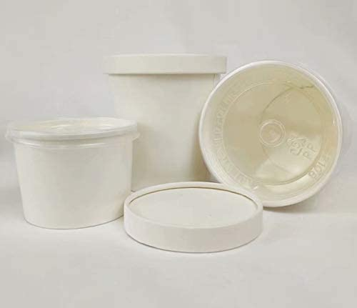 HONHAN Today's Safety and trust only Biodegradable Disposable Paper Food Fast Porta Containers