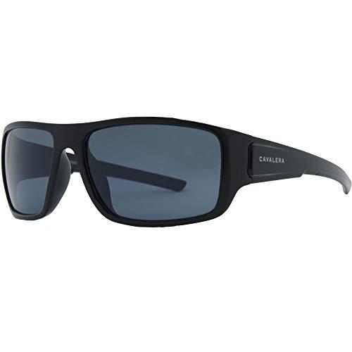 Óculos de sol, N', Cavalera, Retangular, Masculino, Preto Brilho, Único