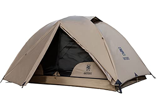 OneTigris COSMITTO 2 Person Backpacking Tent - Free Standing Lightweight Waterproof 3 Season Camping Tent for Outdoor Hiking Mountaineering