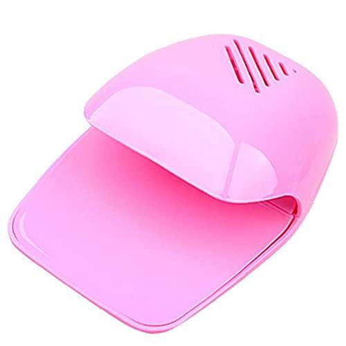 Berrywho Instrumentos y Herramientas de uñas Mini Secador de uñas Ventilador Portable Nail Art Secking Polish Blow Cooler Machine Rosa