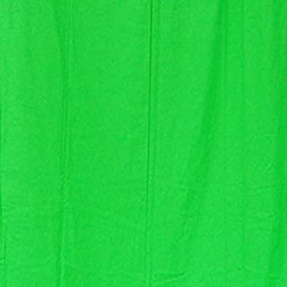 StudioFX 6x9 Chromakey Green Muslin Backdrop 100% Cotton Machine Washable Photography Photo Video Green Screen (6ft x 9ft)