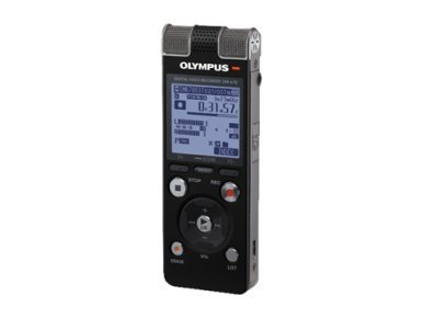 Olympus DM Digitales Diktiergerät (8 GB, 670, 8 GB) Schwarz