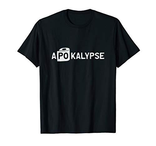 Apokalypse Zombie Hamsterkäufer Klopapier Humor Sprüche T-Shirt