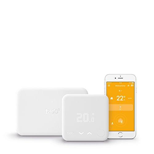 tado° Smartes Thermostat Starter Kit für Einfamilienhäuser mit eigener Heizungsanlage (v3) - intelligente Heizungssteuerung per Smartphone