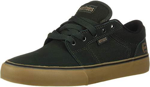 Etnies Barge LS, Zapatillas de Skateboard para Hombre, Verde...