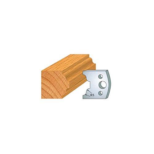 025: set met 2 strijkijzer, klein, hout, hoogte 40 mm, voor gereedschaphouder, asafstand 24 mm