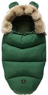 Baby Down Sleeping Bag Winter Warm Hooded Sleepbag with Cute Ears 0-12M