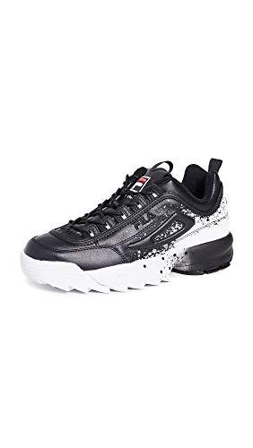 Fila Disruptor II Splatter Sneakers Uomo, nero (nero/nero/bianco), 44 EU