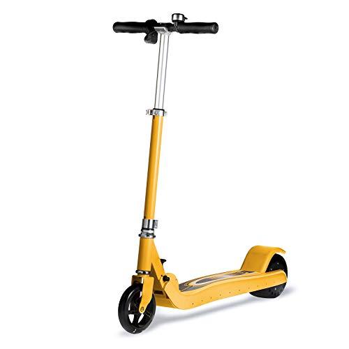 LL-SUNGIRL El Plegado de liberación rápida del neumático Delantero Inflable del Scooter eléctrico, para Adultos, Adolescentes, Puede Viajar continuamente Durante 40 Minutos
