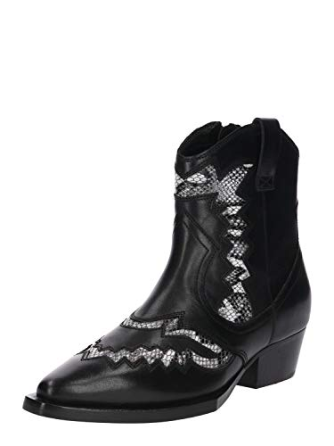 Bronx Dames laarzen Jacky-Jo Low zwart 41