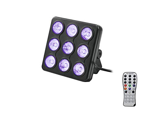 Eurolite LED Party Panel RGB Ed UV, Multi kleuren
