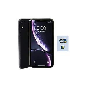 【OCN モバイル ONE専用】Apple iPhone XR 128GB ブラック(整備済み品)