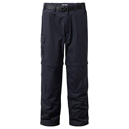 Craghoppers Pantalon transformable Kiwi homme, Bleu, , 44 ( Taille Fabricant: 30L)