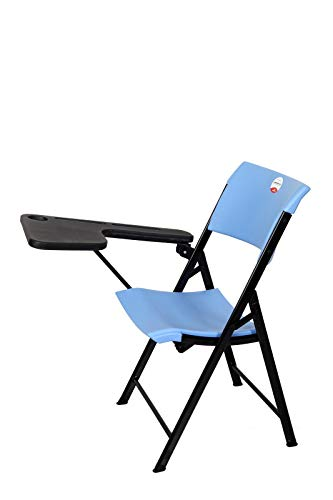WONDERPLAST ACE Folding Study Training Institution Writing Pad Folding Student Chair(Brown)