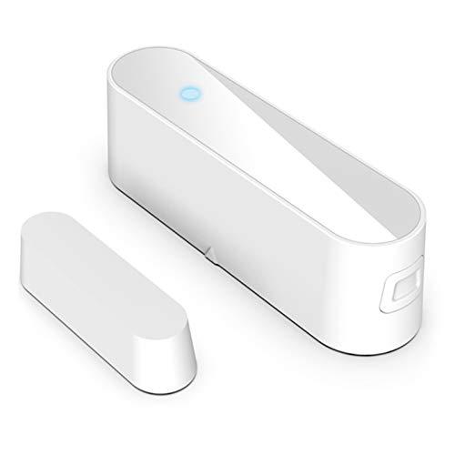 MOC Sensor de alarma para puerta y ventana, sensor inteligente para casa, alarma inalámbrica, WiFi, sensor de puerta, ventana, imanes, tecnología de seguridad para el hogar