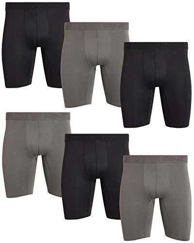 9. AND1 Men's Compression Long Leg Performance Boxer Briefs