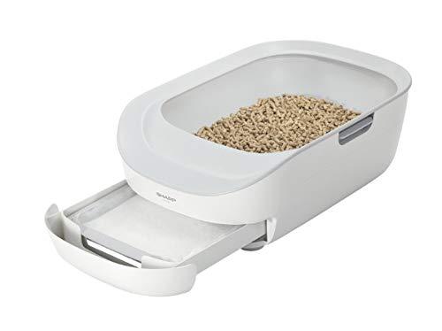 シャープ 猫用システムトイレ型ペットケアモニター HN-PC001-W