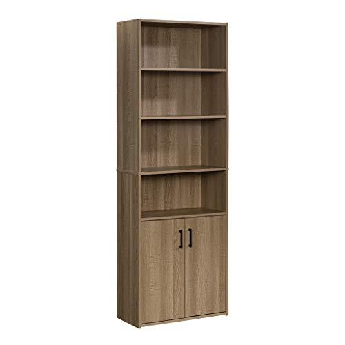 Hodedah 8 Door Bookcase cabinet, Black