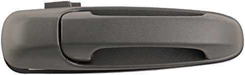 Dorman 80163 Front Passenger Side Exterior Door Handle for Select Dodge / Mitsubishi Models, Textured Black (OE FIX)