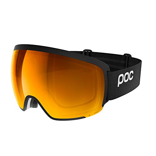 POC Orb Clarity Goggle, Uranium Black/Spektris Orange, ONE Size
