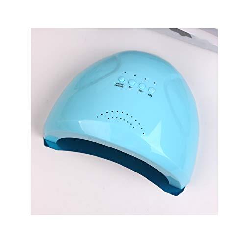 MODRYER UV LED De La Lámpara del Clavo, Clavo De 48W Rápido Secadora para Gel Pulido, Profesional Gel Máquina Lámpara con 3 Ajustes del Temporizador, Sensor Automática De 5/30/60 / S,Blue