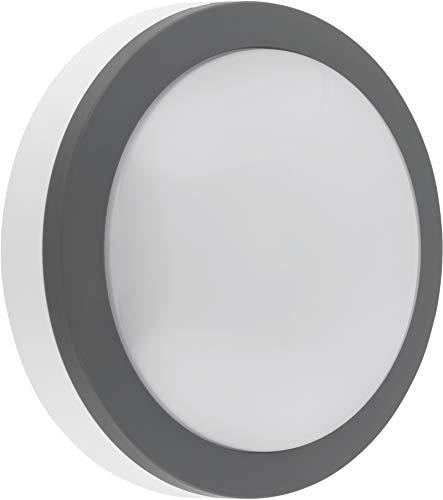 LED Outdoor sensorlamp 12W IP65 met HF-bewegingsmelder - plafondlamp wandlamp - daglicht wit (4000 K)