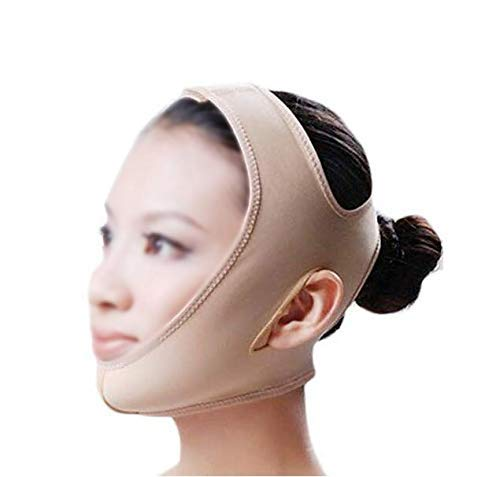 Perfect V Face Slim Bandage Skin Care Lift Réduire Double Chin Face Mask Thining Belt L