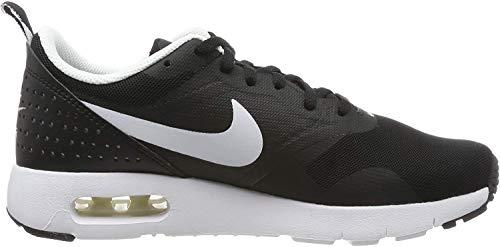 Nike Air Max Tavas GS, Chaussures de Course Les Enfants et Les Adolescents, Noir (Black/White), 40 EU