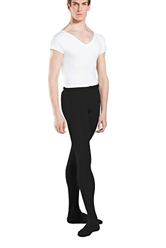 Wear Moi Solo Tights, Cotton Elasthan, Black, Medium (SOLOMBLA)