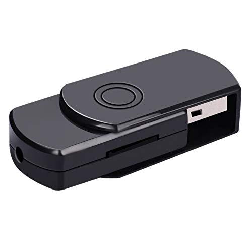 DIDIOI Kamera, Minikamera, 1080p HD-Kamera-Bewegungs-Abfragungs-Kamera Mini-DV DVR U Scheibe USB-Kamera
