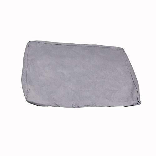 LONGSHUN Housse lavable durable avec fermeture éclair solide et fonction bracelet, facile à transporter, lavage après lavage pour chiens de grande taille – Housse uniquement (gris, 94,2 x 68,3 cm).