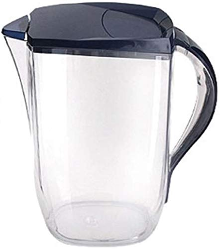 GAOYINMEI Tetera Transparente Jarra for Zumo de Gran Capacidad de 2 litros de Agua Jarra con Tapa, Alta Temperatura y Resistente al Calor Caldera Grado Alimenticio Material Seguro