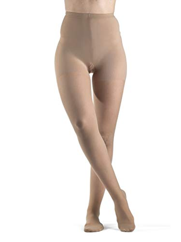 SIGVARIS EVERSHEER 780 - Medias de compresión para mujer (cintura cerrada, 20-30 mmHg), SG_B0058DL1LG_US, 1