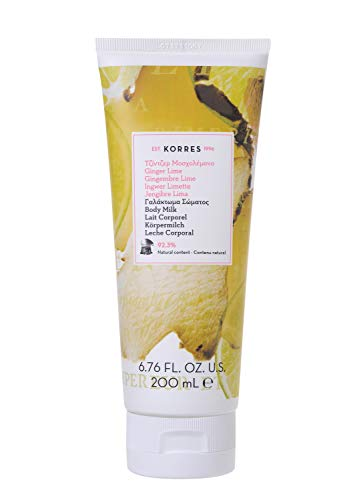 Korres Ginger Lime Körpermilch, 1er Pack (1 x 200 ml)