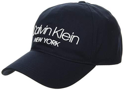 Calvin Klein Herren Ny Bb Baseball Cap, Blau (Ck Navy Cef), One Size (Herstellergröße: OS)