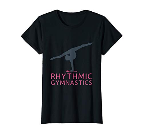 Wunderschönes Rhythmische Sportgymnastik Geschenk Mädchen T-Shirt