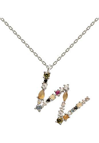 P D Paola 32012149 Women's Necklace 925 Silver Labradorite one size W