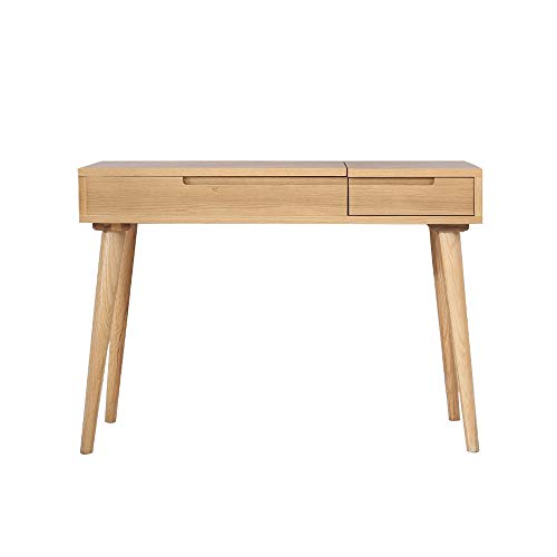 Eenvoudige en moderne stijl salontafel klein appartement slaapkamer dressoir tafel massief hout wit eiken dressoir tafel Europese opbergtafel