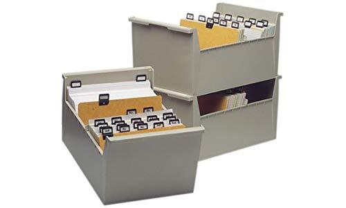 VAL-REX 0391500 Karteitrog A5 quer, grau, unbestückt