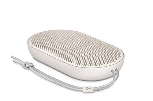 Bang & Olufsen Beoplay P2 Bluetooth-Lautsprecher (tragbar, mit integriertem Mikrofon) sandstone