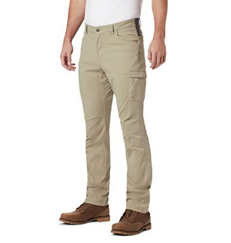 Columbia - Pantaloni Elasticizzati da Uomo Outdoor ElementsTM, Uomo, 1768721, Zoccolo, 38W / 30L