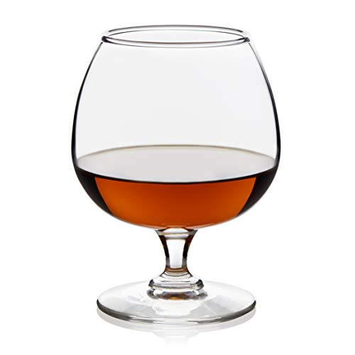 Libbey Craft Spirits Cognac Glasses, Set of 4