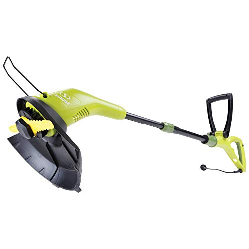 Sun Joe SB602E 11.5-Inch 4.5 Amp Electric SharperBlade 2-in-1 Stringless Lawn Trimmer, Green (Renewed)