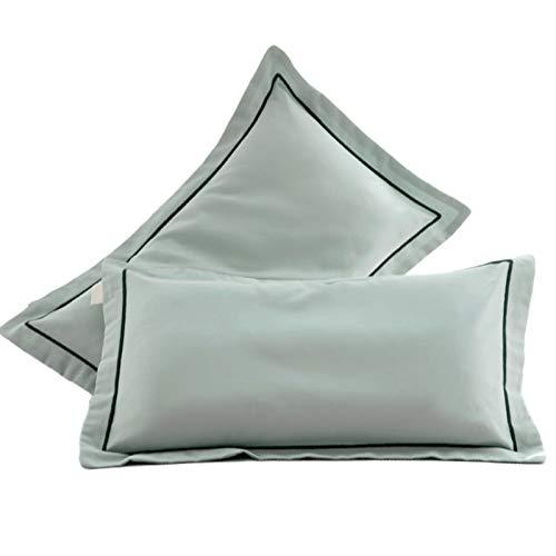 YKW Funda de Almohada de látex Memoria Funda de Almohada de algodón for Adultos 30X50 pequeña Funda de Almohada 40x60 Funda de Almohada de los niños (Color : B, Size : Small)