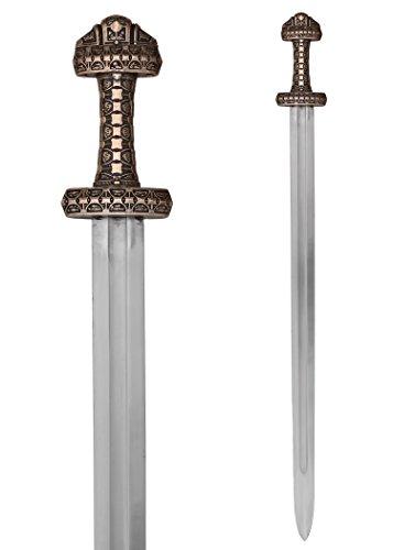 Battle-Merchant Wikingerschwert der Insel Eigg mit Scheide reguläre Version Einhandschwert Langschwert Templerschwert Ritter Mittelalter ab 18 Jahren