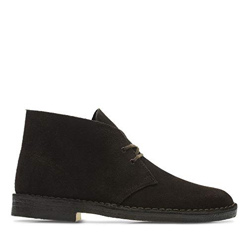 Clarks Desert Boots - Polacchine Uomo, Pelle, Marrone (Brown Suede-), 41 EU