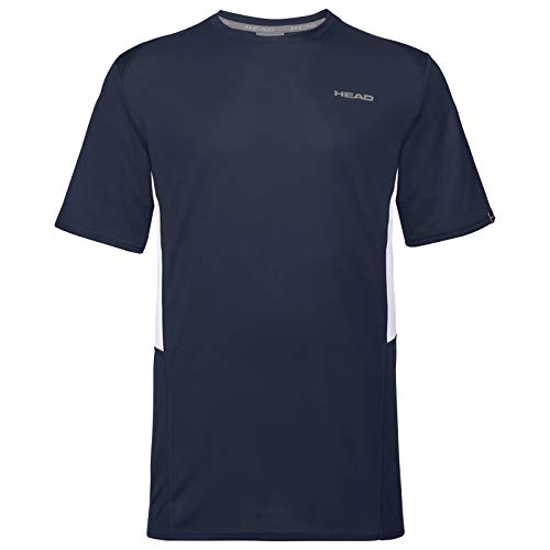 HEAD Herren Club Tech M T-shirts, Darkblue, L