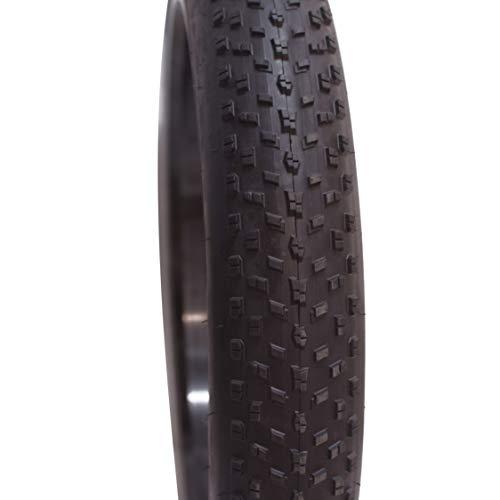 Wheelstore24 Fahrrad, Cruiser, Fatbike Reifen 26X4,00 Zoll, 26 x 4.00, Stollenprofil